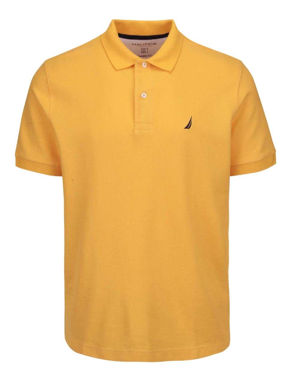 Žluté pánské polo triko Nautica