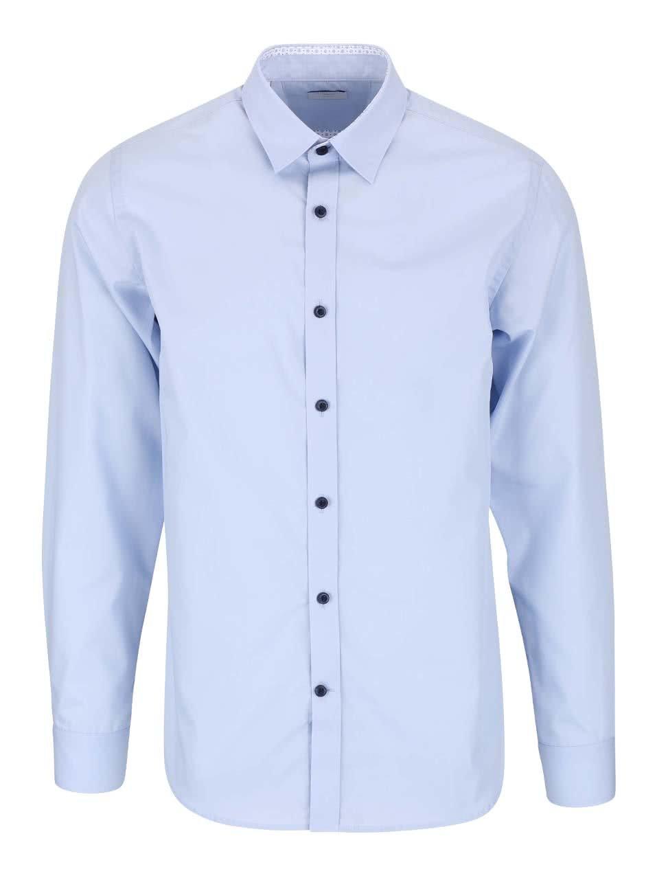 Světle modrá slim fit košile Selected Homme Xoneandy
