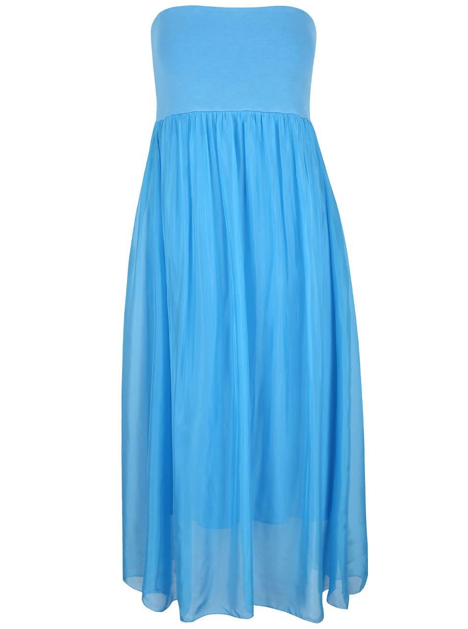 Světle modré šaty Alchymi Torenia