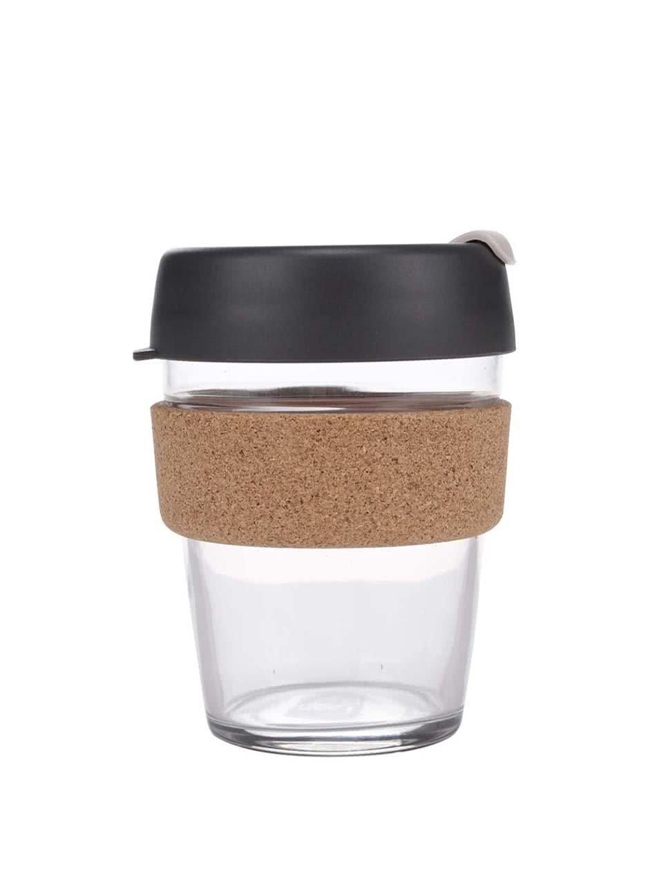 Dizajnový cestovný sklenený hrnček KeepCup Brew Press Medium