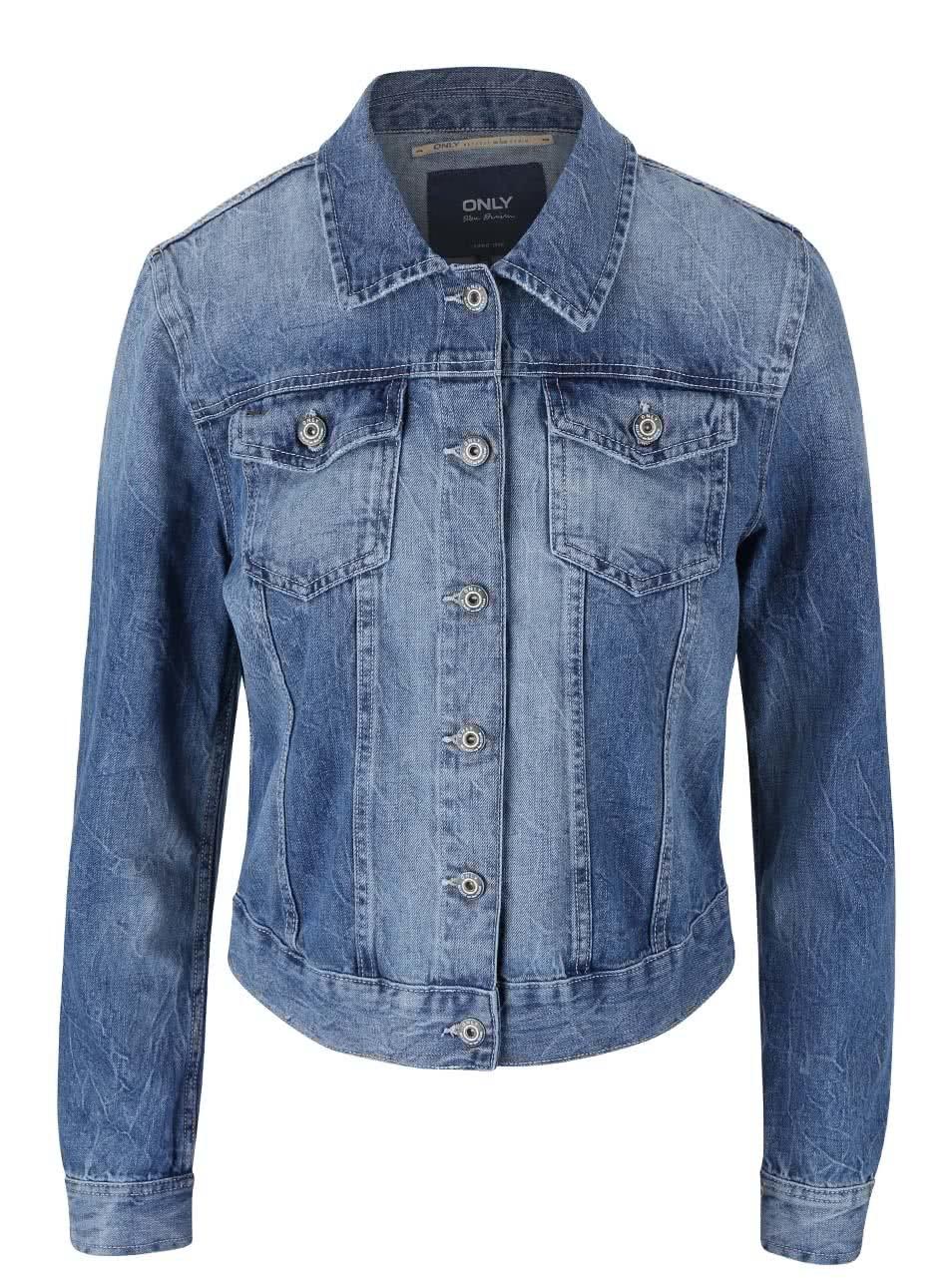 Modrá džínová bunda ONLY Chris