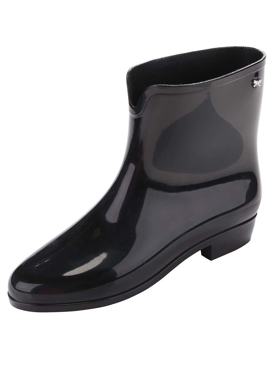 Černé holínky Zaxy Boot II