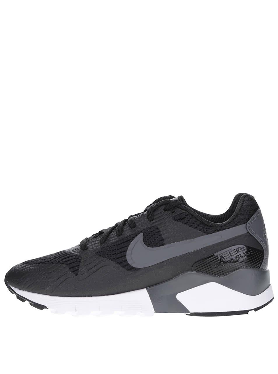 Černé dámské tenisky s detaily Nike Air Pegasus 92/16