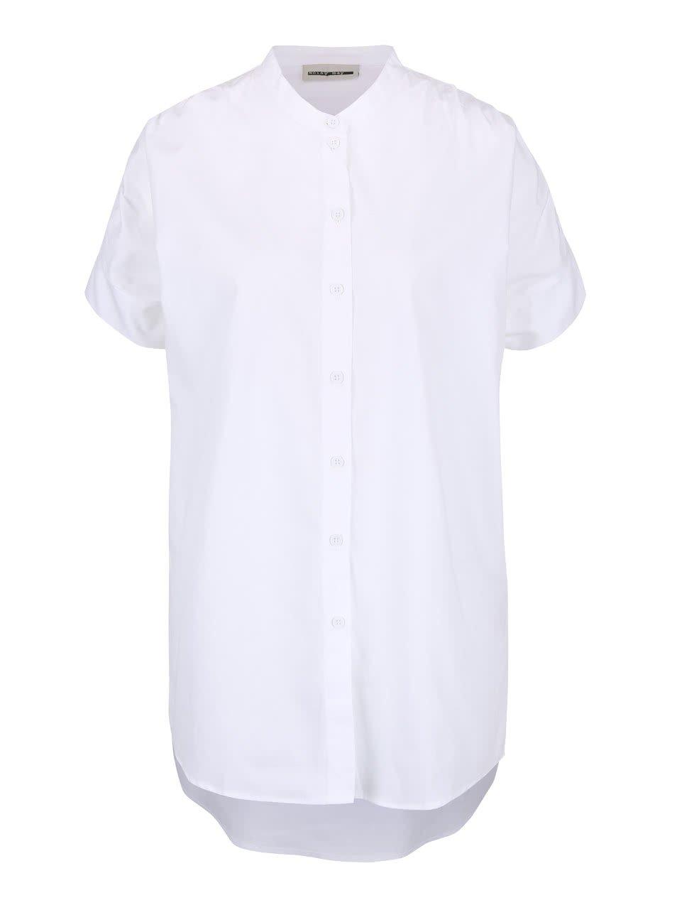 Bílá košile Noisy May Anoro