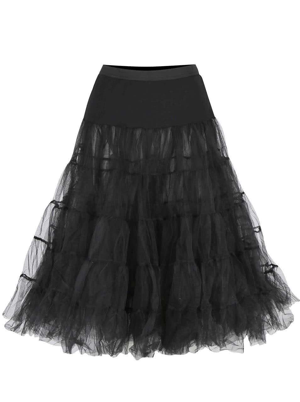 Černá spodnička Dolly & Dotty Petticoat