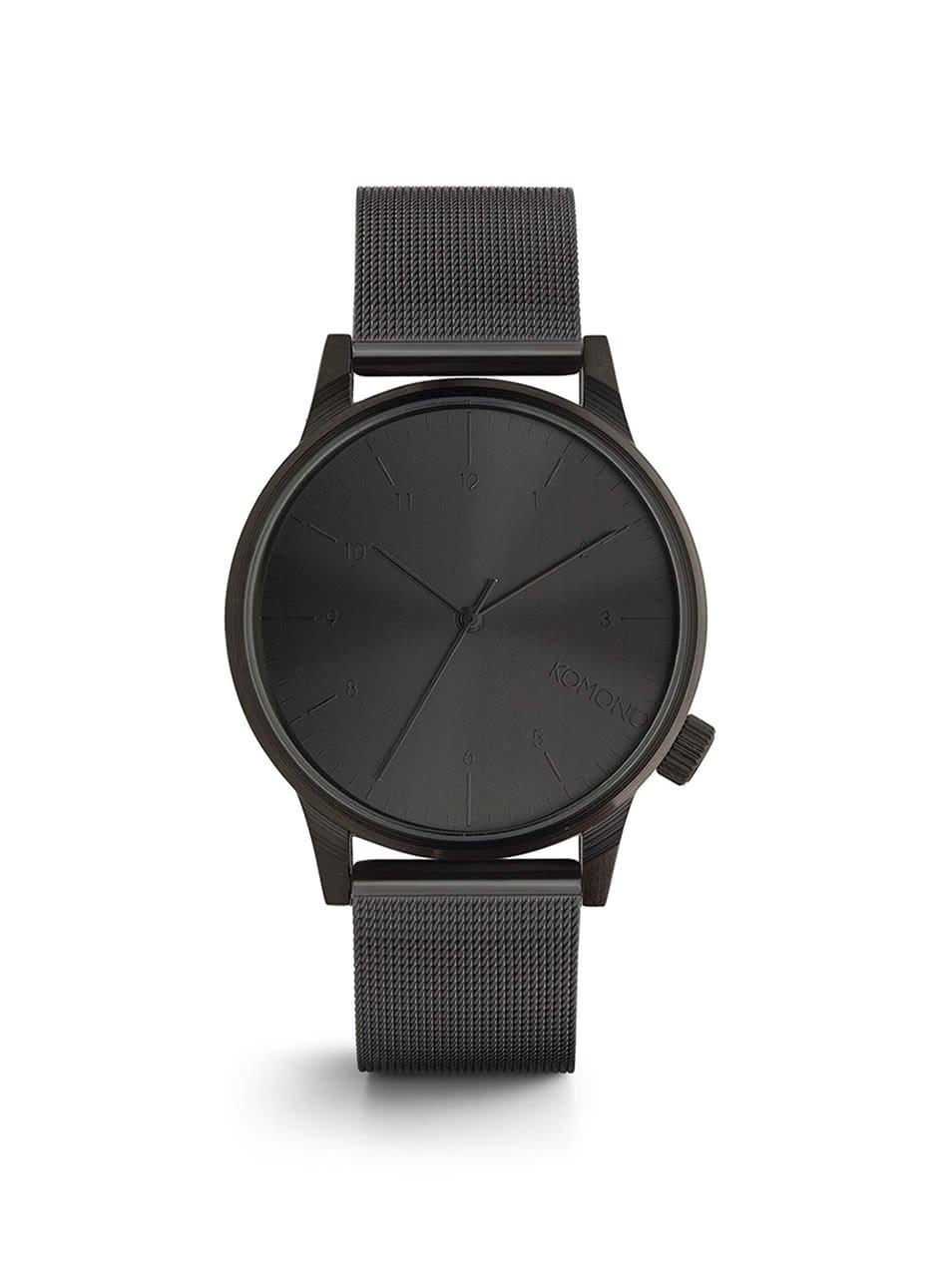 Unisex hodinky s kovovým remienkom Komono Winston Royale
