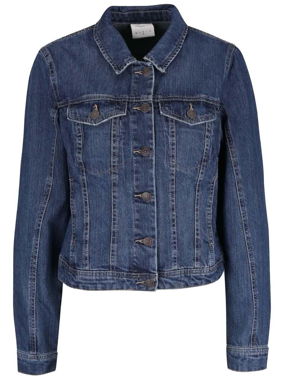 Tmavě modrá džínová bunda Vero Moda Danger