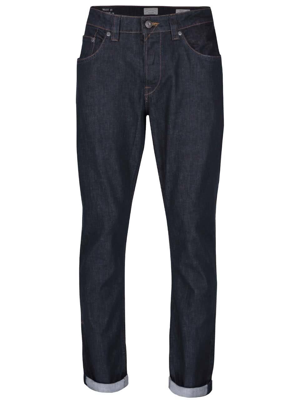 Tmavě modré regular džíny ONLY & SONS Weft