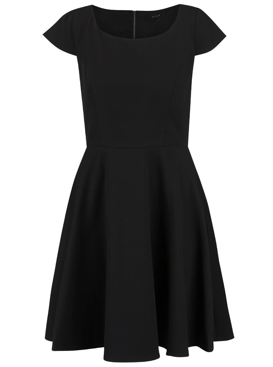 Černé šaty VILA Sonni
