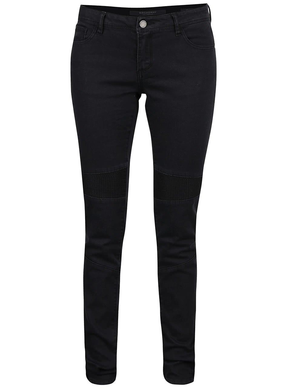 Černé dámské skinny džíny Broadway Jane