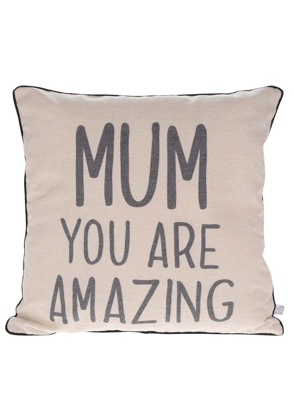 Béžový polštářek pro maminku Sass & Belle