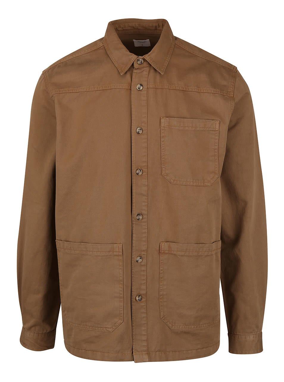 Hnědá lehká bunda Burton Menswear London
