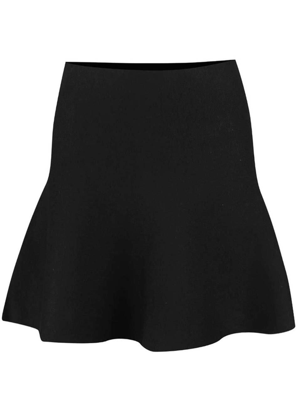 Černá minisukně Vero Moda Cirus