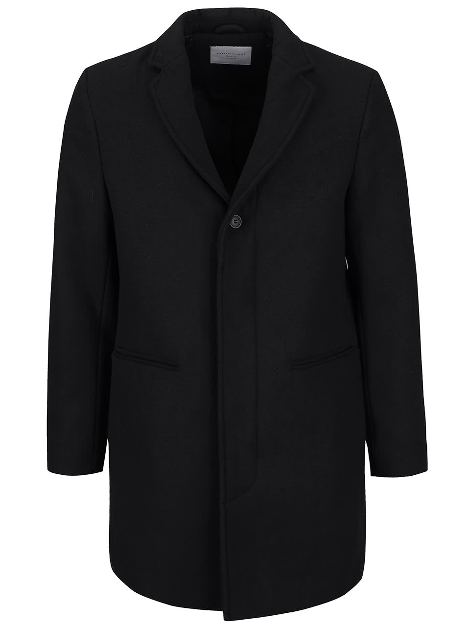Černý kabát Selected Homme Casper