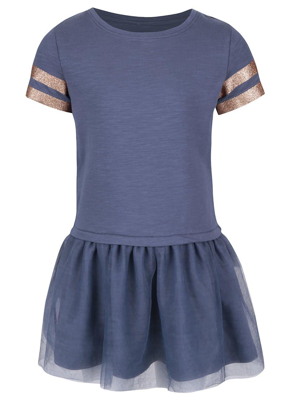Modré holčičí šaty name it Lathilde
