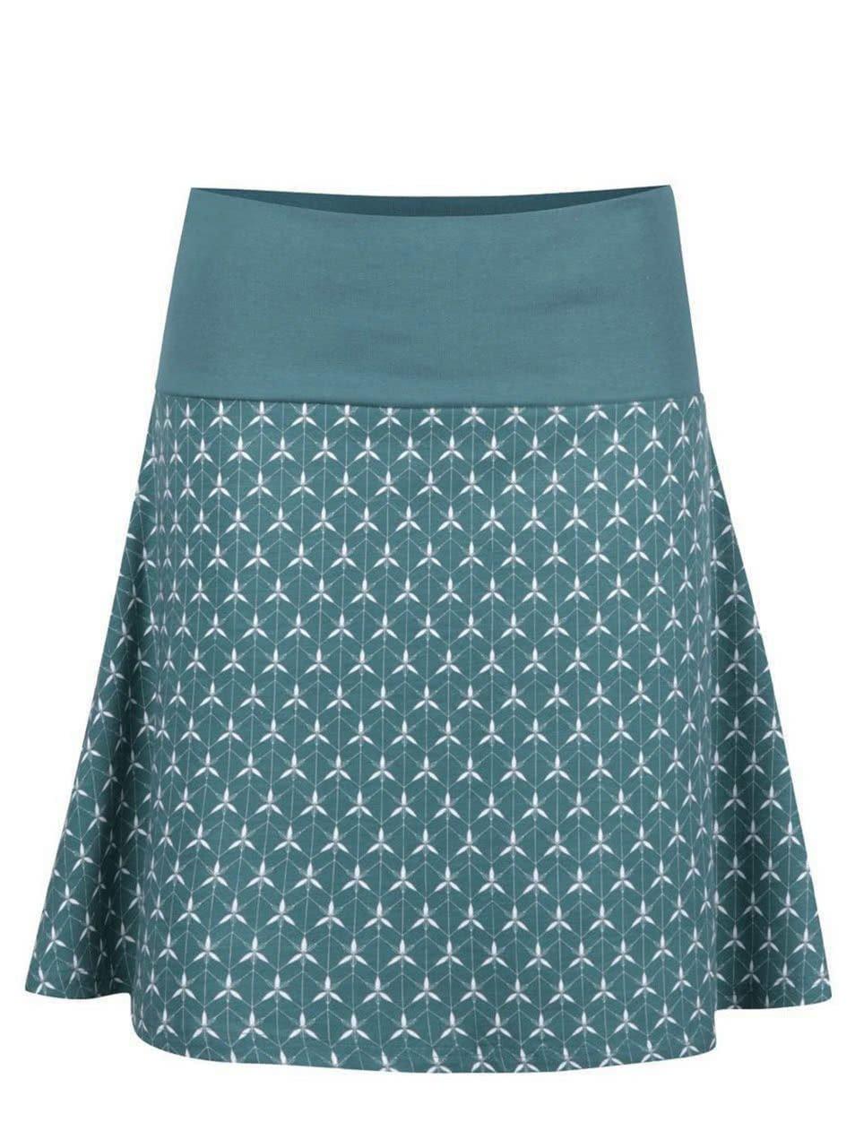 Zelená vzorovaná sukně Tranquillo Emilia