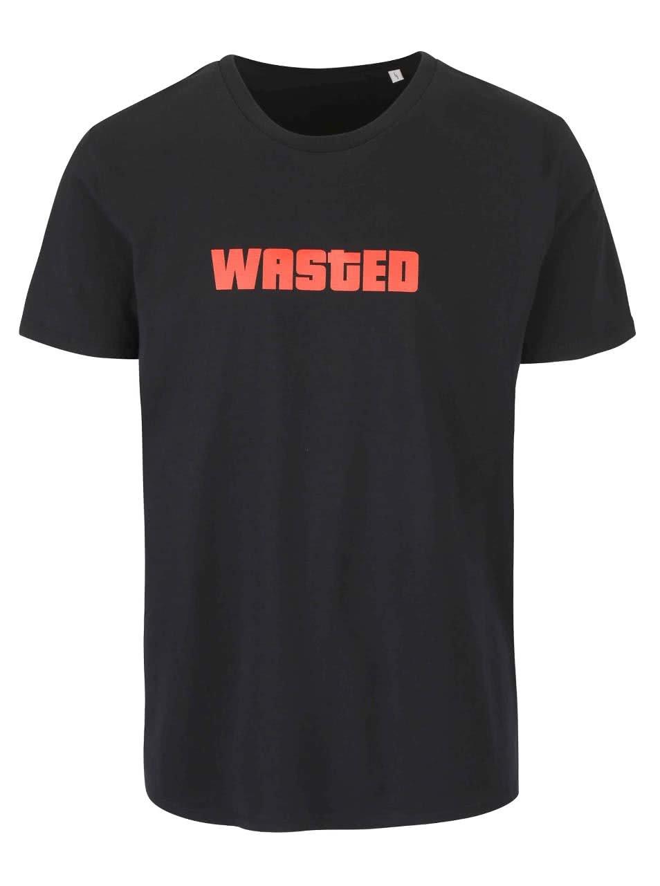 Černé pánské triko ZOOT Originál Wasted