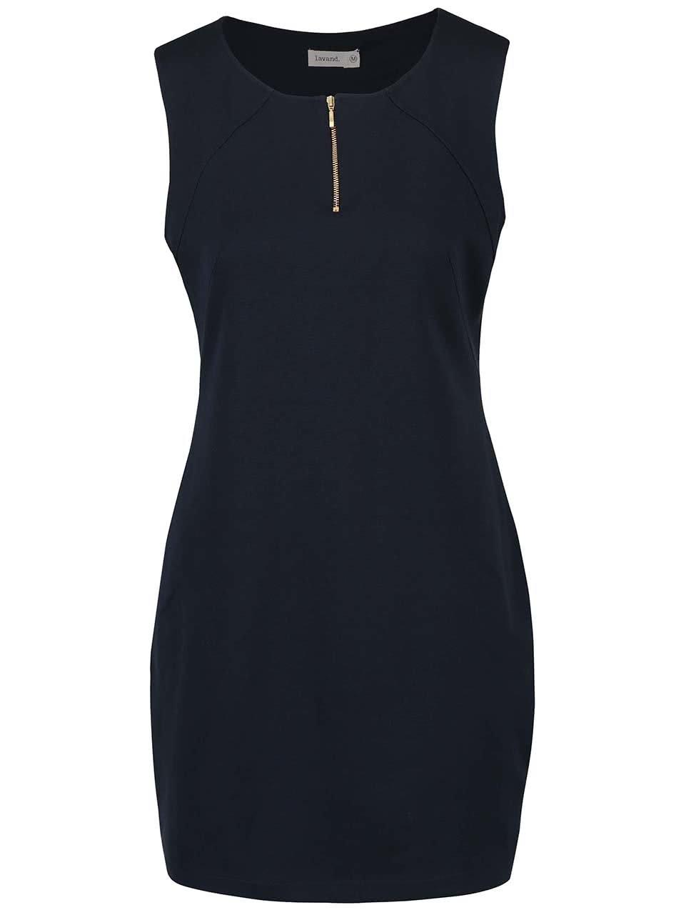 Tmavě modré šaty Lavand