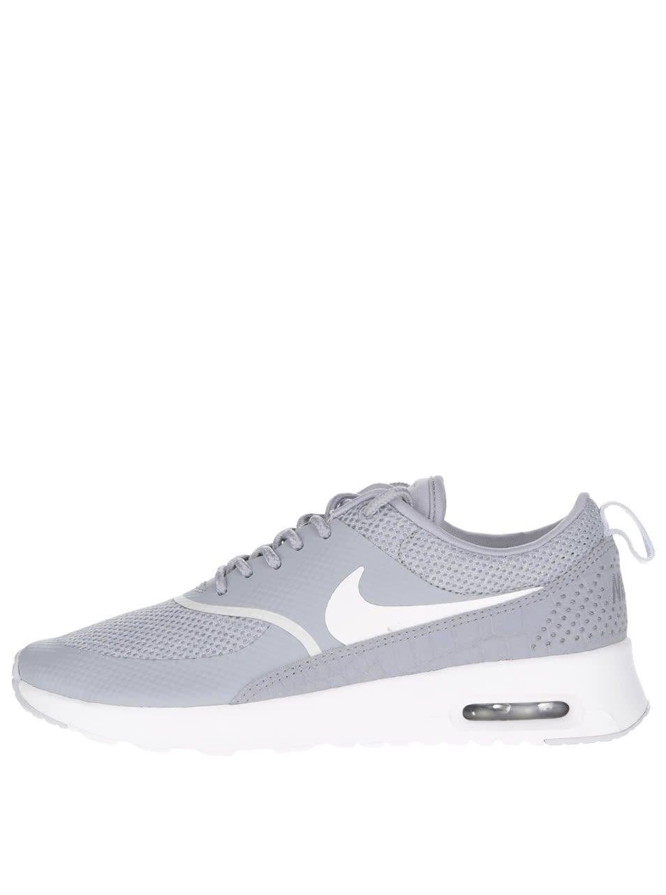 Světle šedé dámské tenisky Nike Air Max Thea