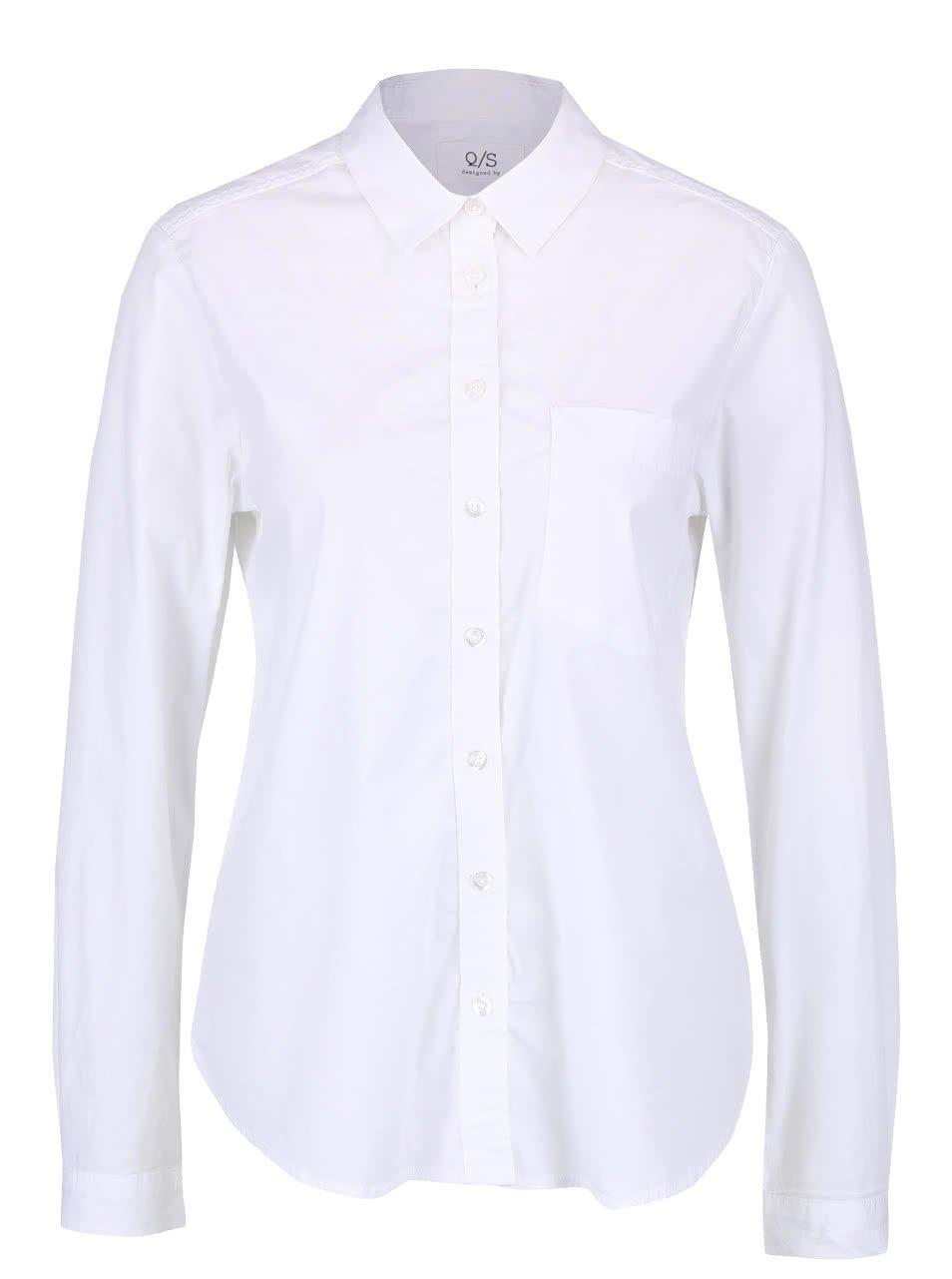 Bílá dámská košile QS by s.Oliver
