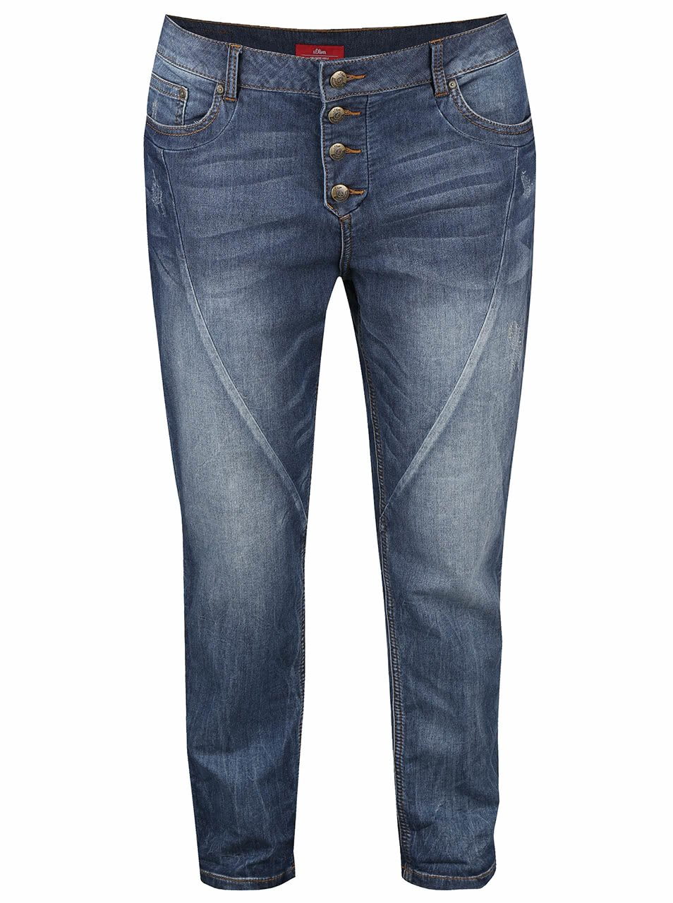 Modré dámské džíny s.Oliver