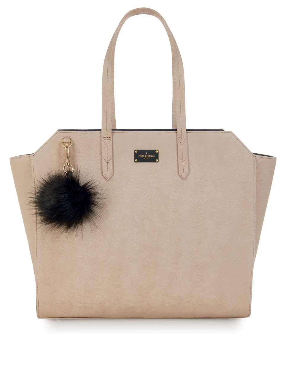 Béžová kabelka Paul's Boutique Ally