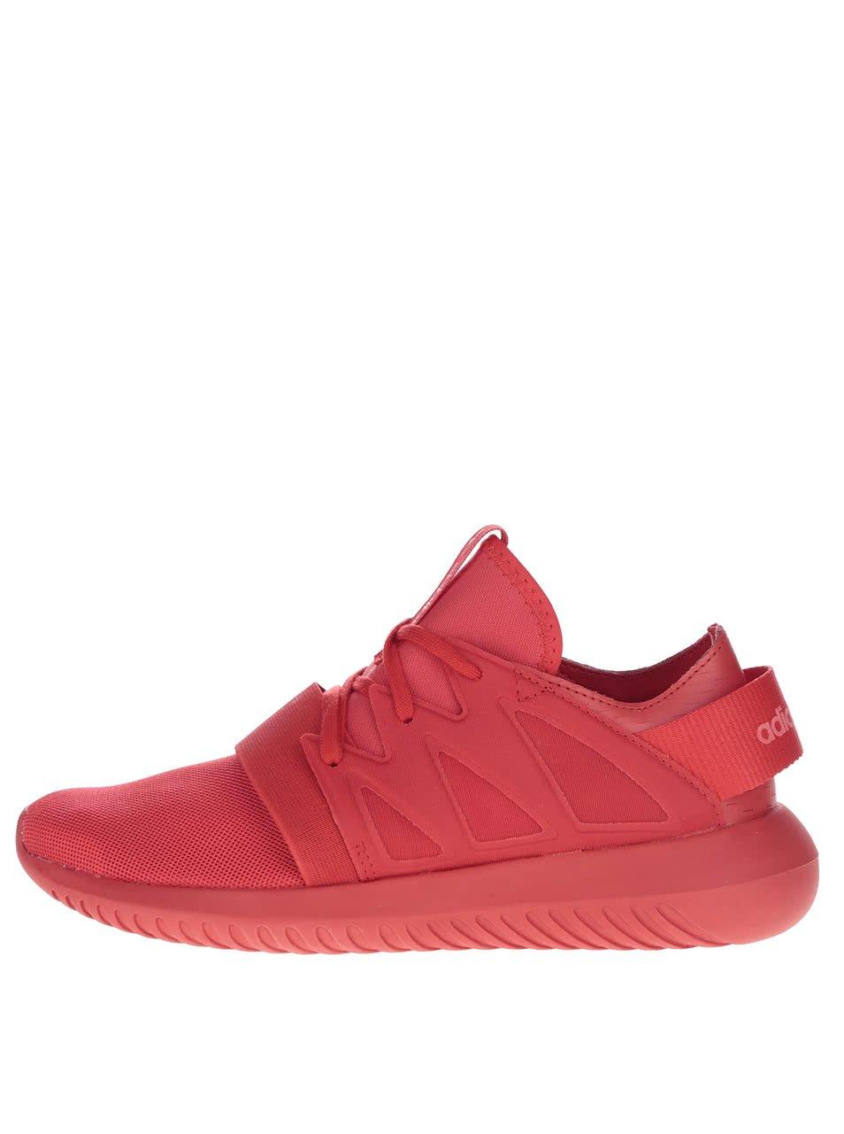 Červené dámské tenisky adidas Originals Tubular