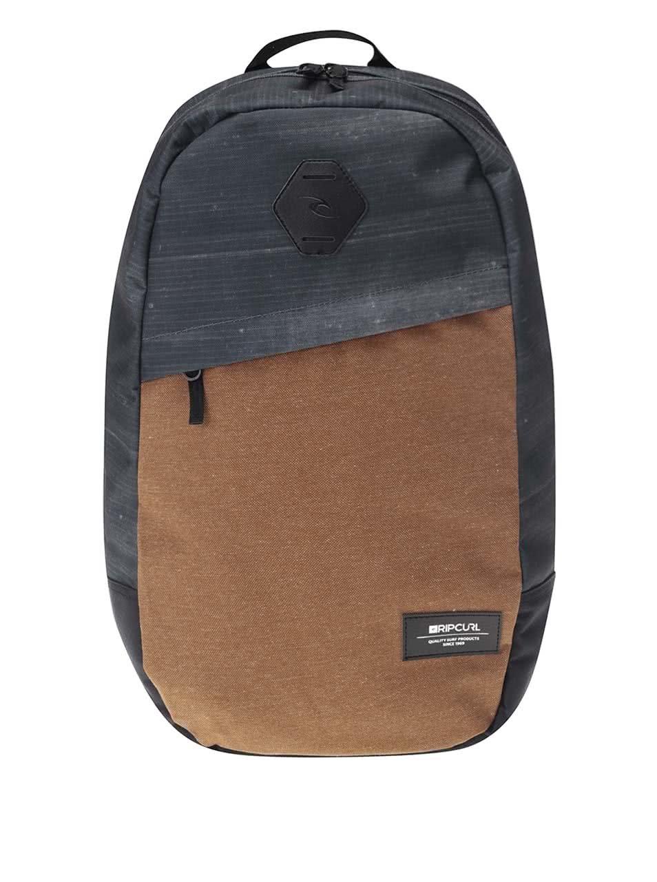 Šedo-hnědý pánský batoh Rip Curl Stacker Craft