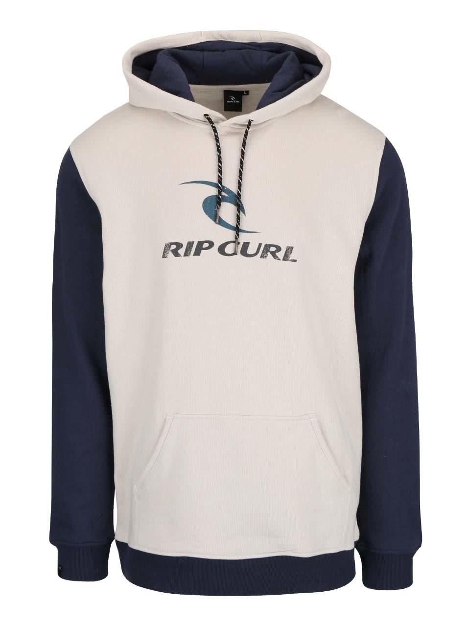 Modro-béžová pánská mikina s kapucí Rip Curl Corps