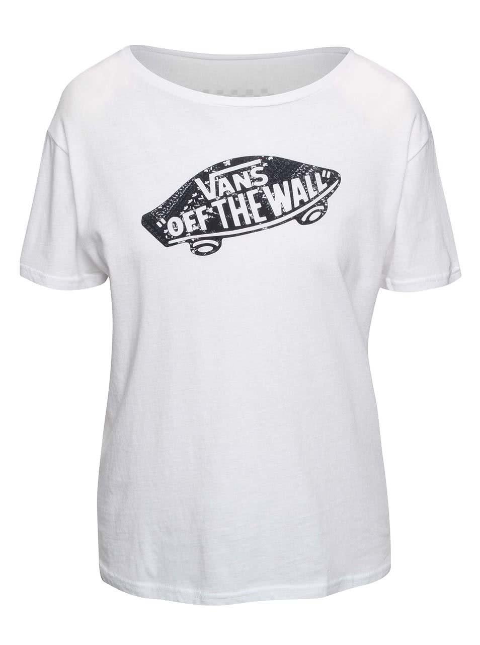 Bílé dámské tričko Vans Tropic Skateful