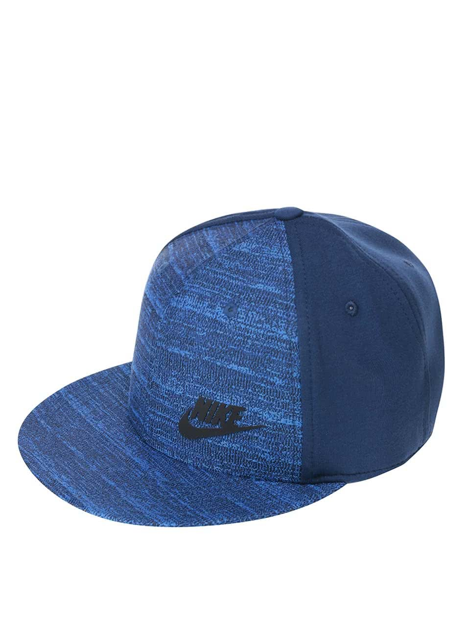 Modrá pánská kšiltovka Nike Tech Pack True
