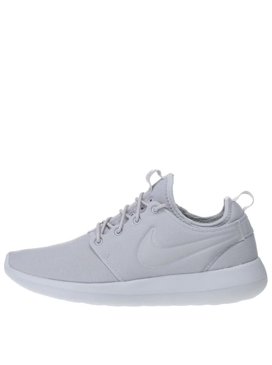 Světle šedé pánské tenisky Nike Roche Two
