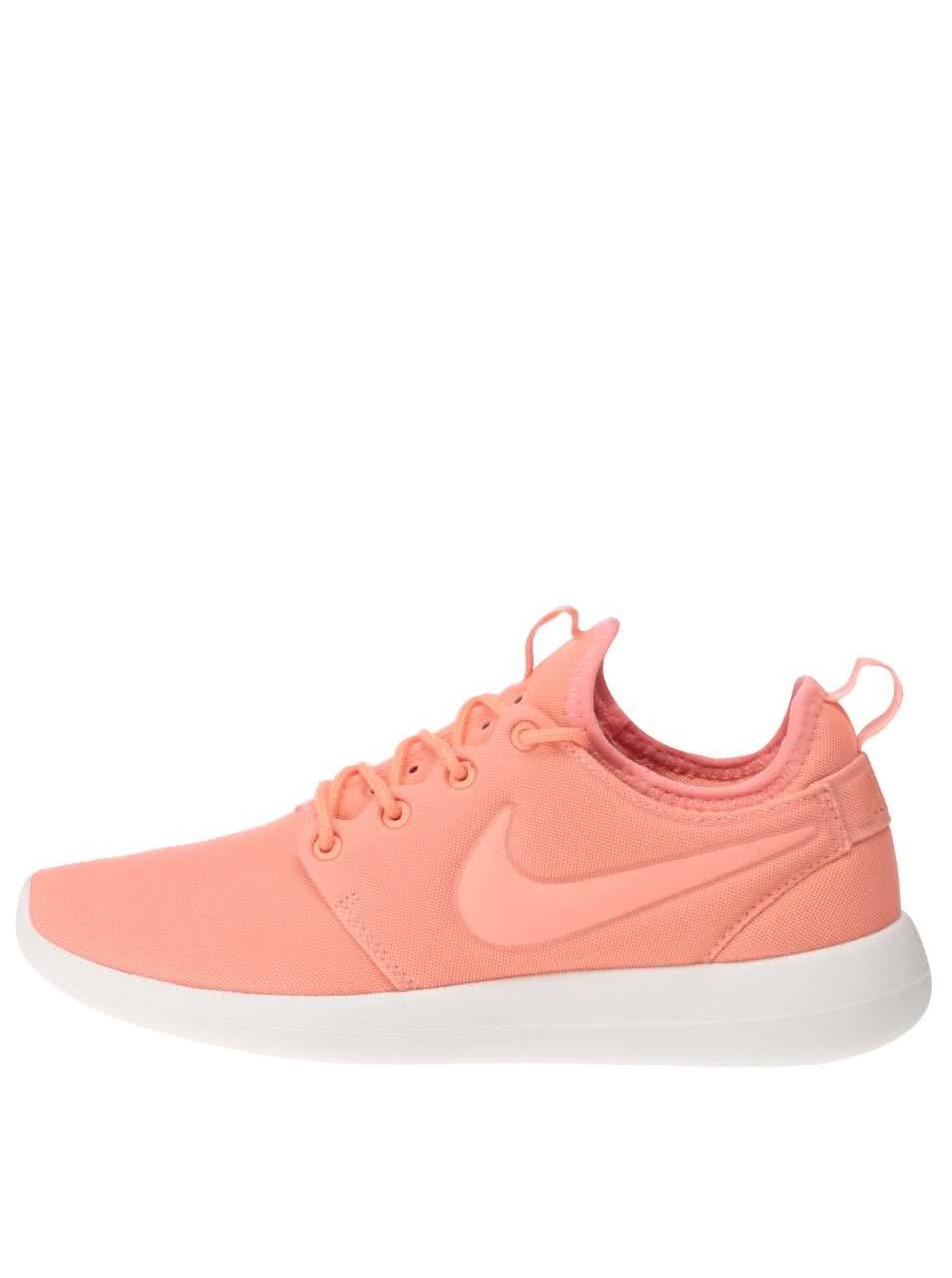 Světle oranžové dámské tenisky Nike Roshe Two