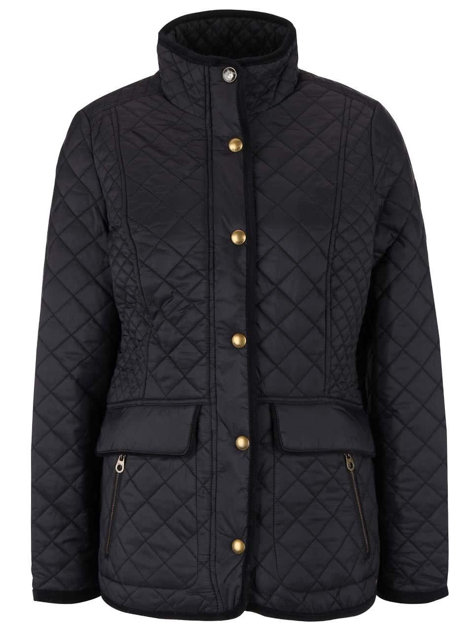 Černá dámská prošívaná bunda Tom Joule Newdale