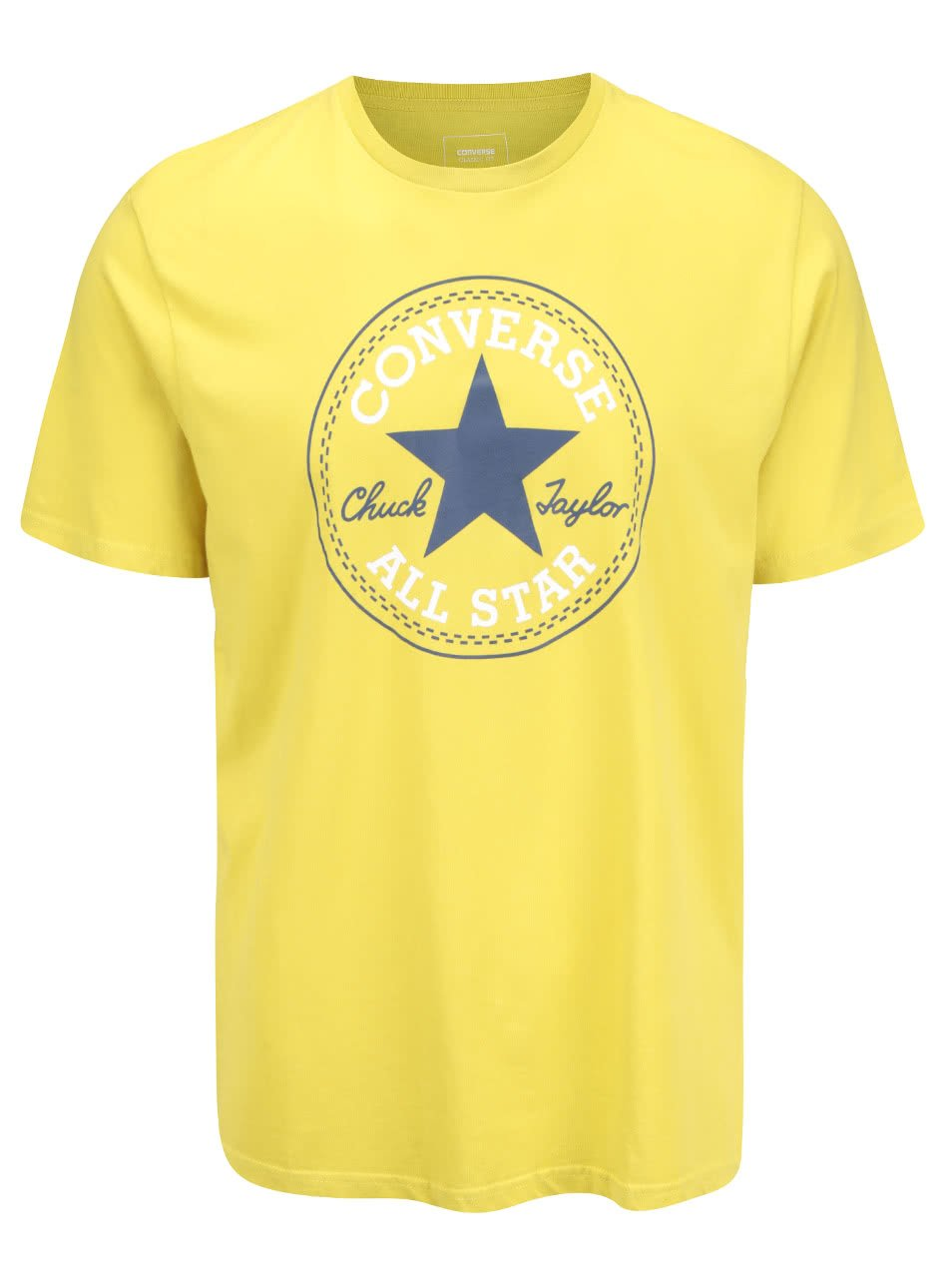 Žluté pánské triko s logem Converse Core