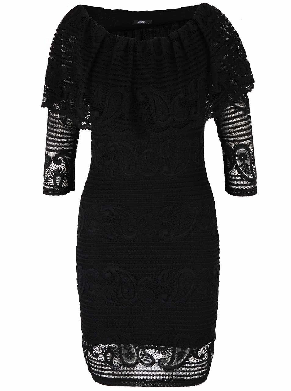Černé šaty Haily´s Marylyn