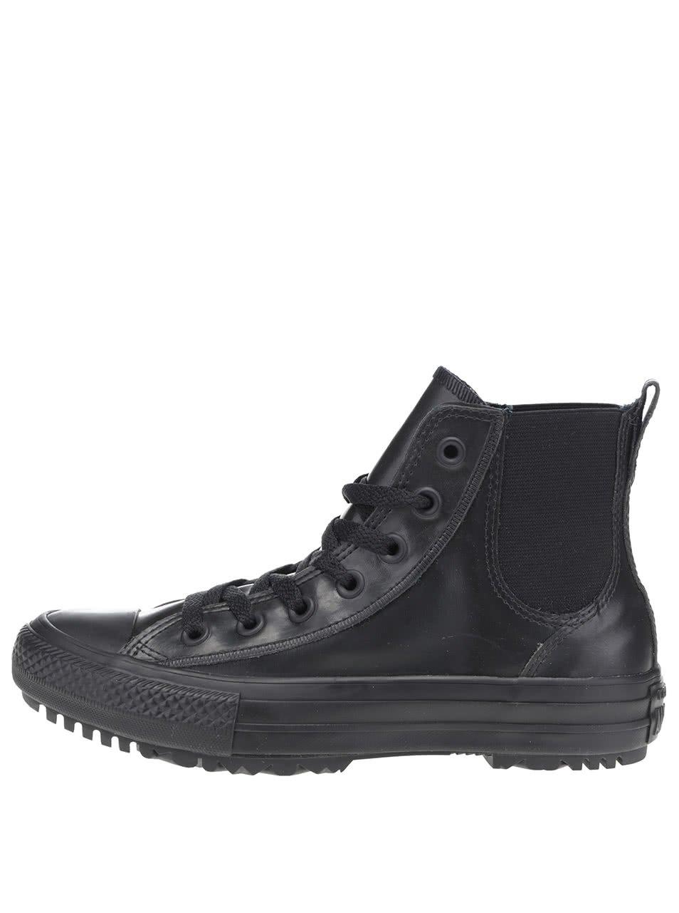 Černé dámské kotníkové tenisky Converse Chuck Taylor All Star Chelsea Boot