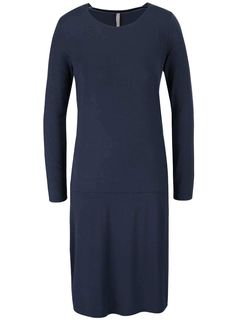 Tmavě modré šaty YAYA
