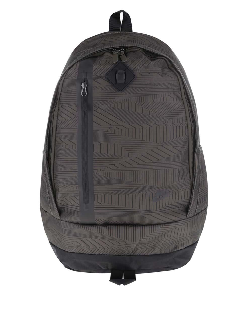 Khaki vzorovaný batoh Nike Cheyenne 3.0