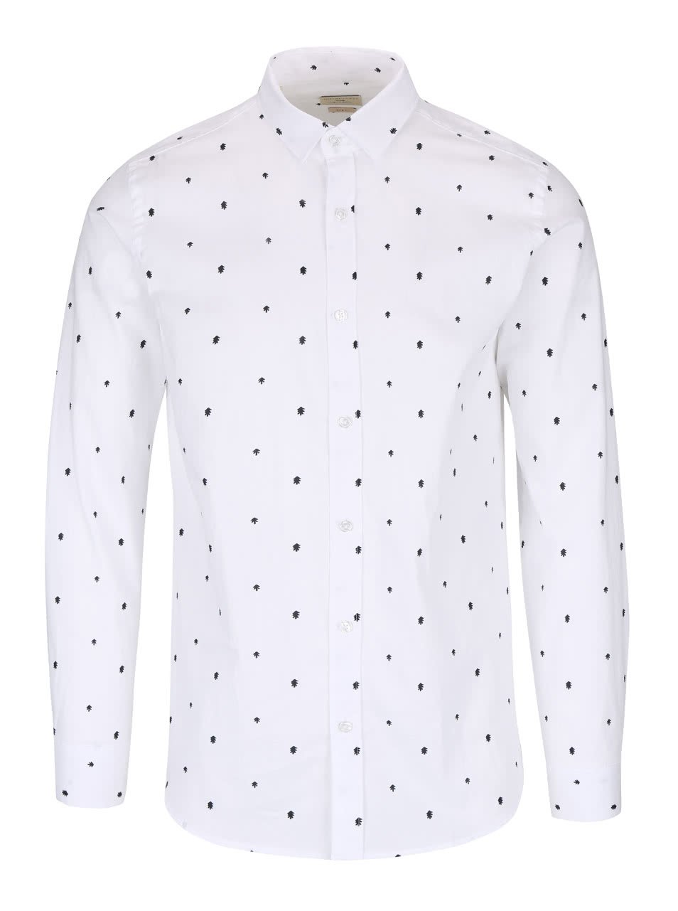 Bílá slim fit košile Selected Homme One Tree