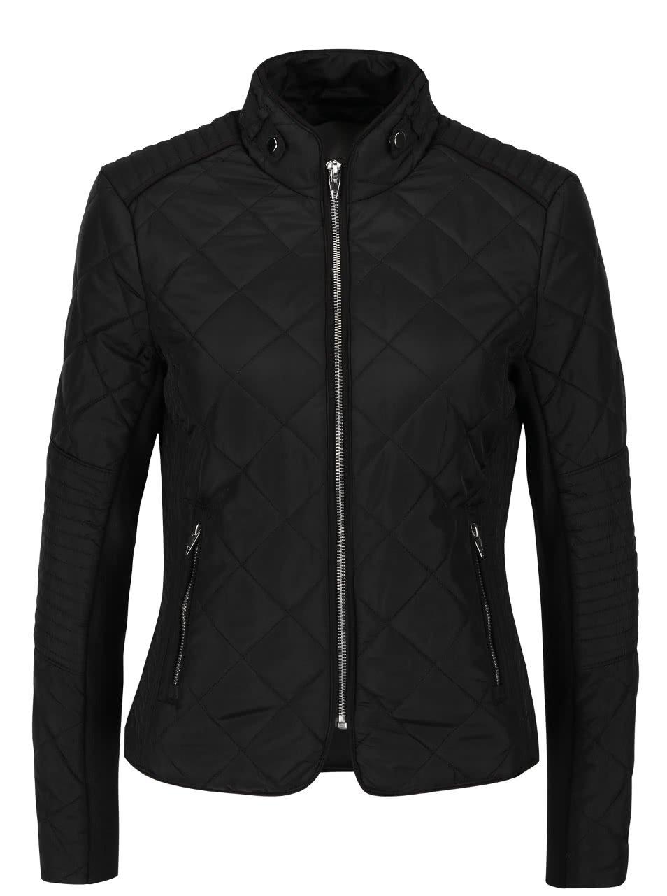 Černá lehčí prošívaná bunda Vero Moda You