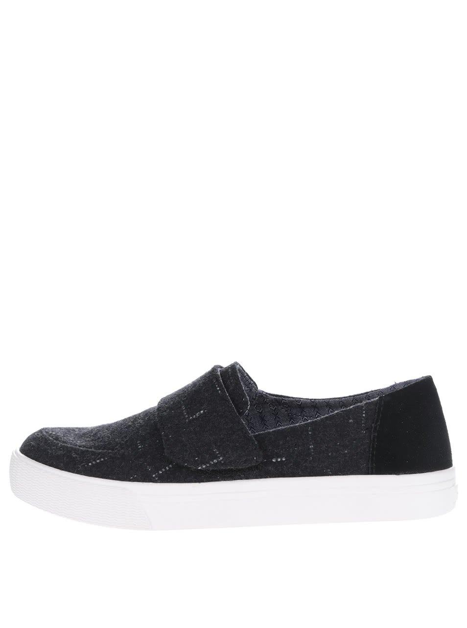 Černé dámské boty Toms