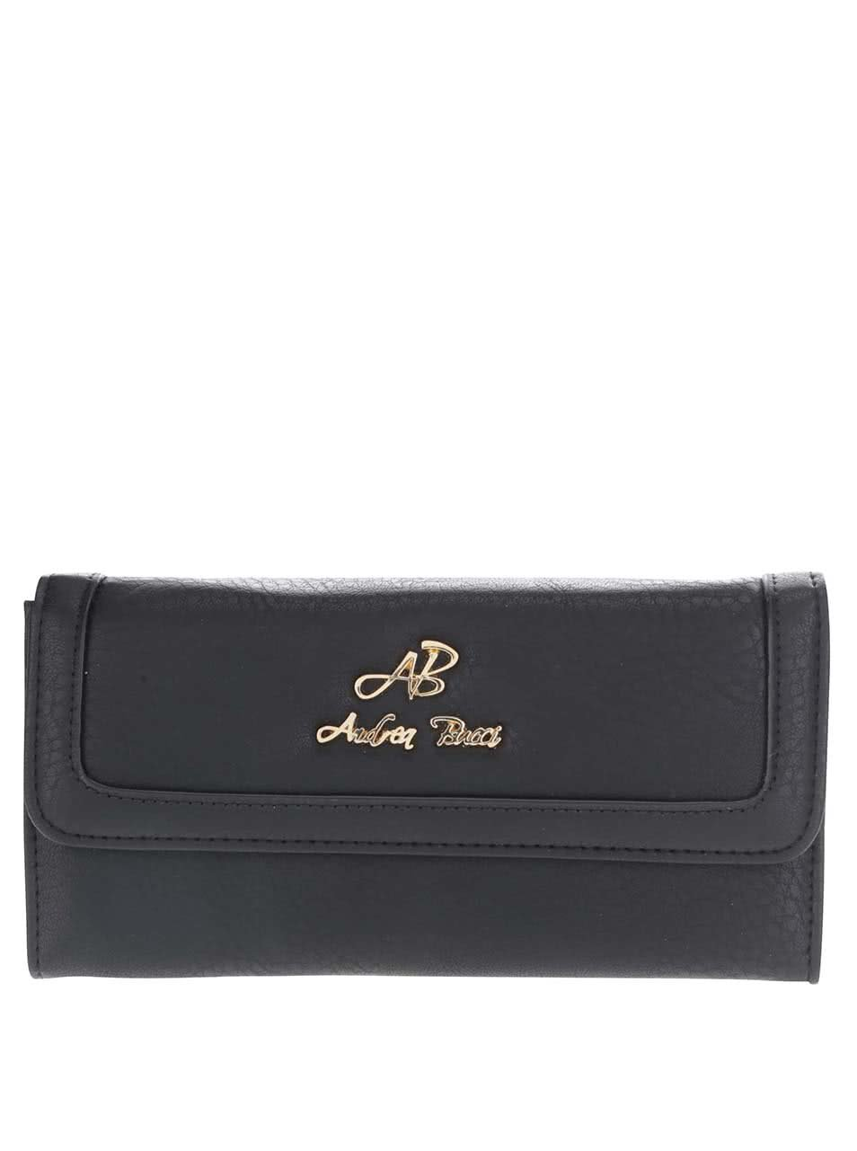 Černá peněženka Andrea Bucci