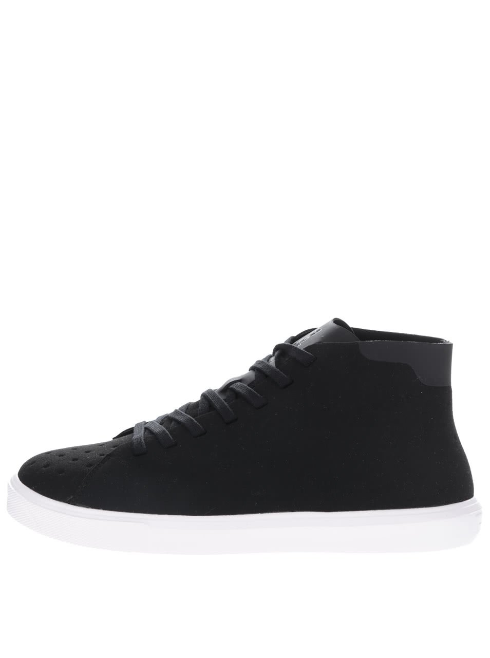 Pánské černé kotníkové boty Monaco Native