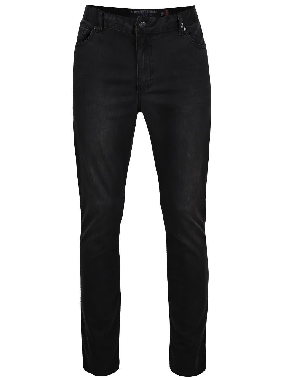 Černé pánské džíny Horsfeathers Flip