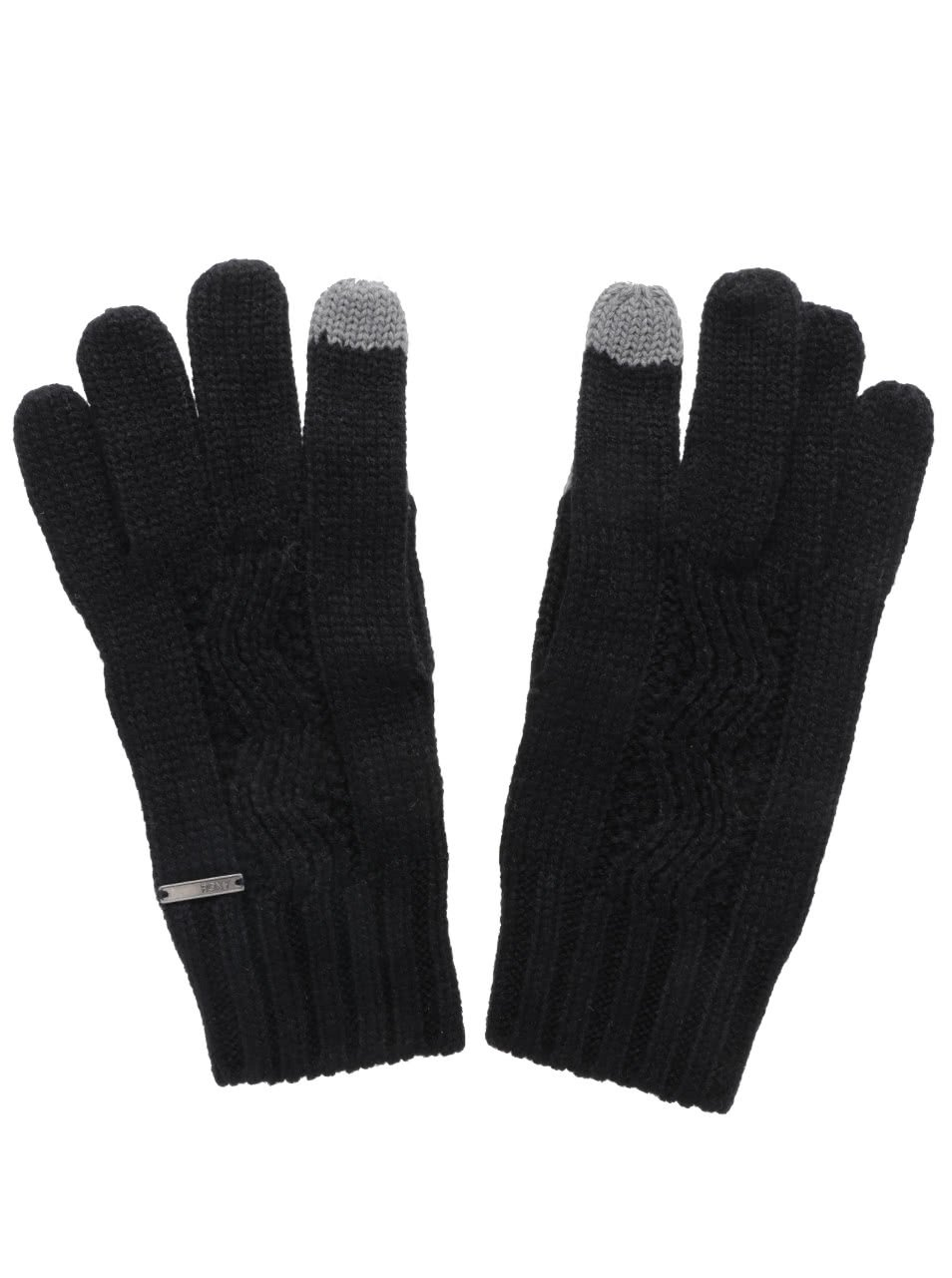 Černé rukavice Roxy Stay