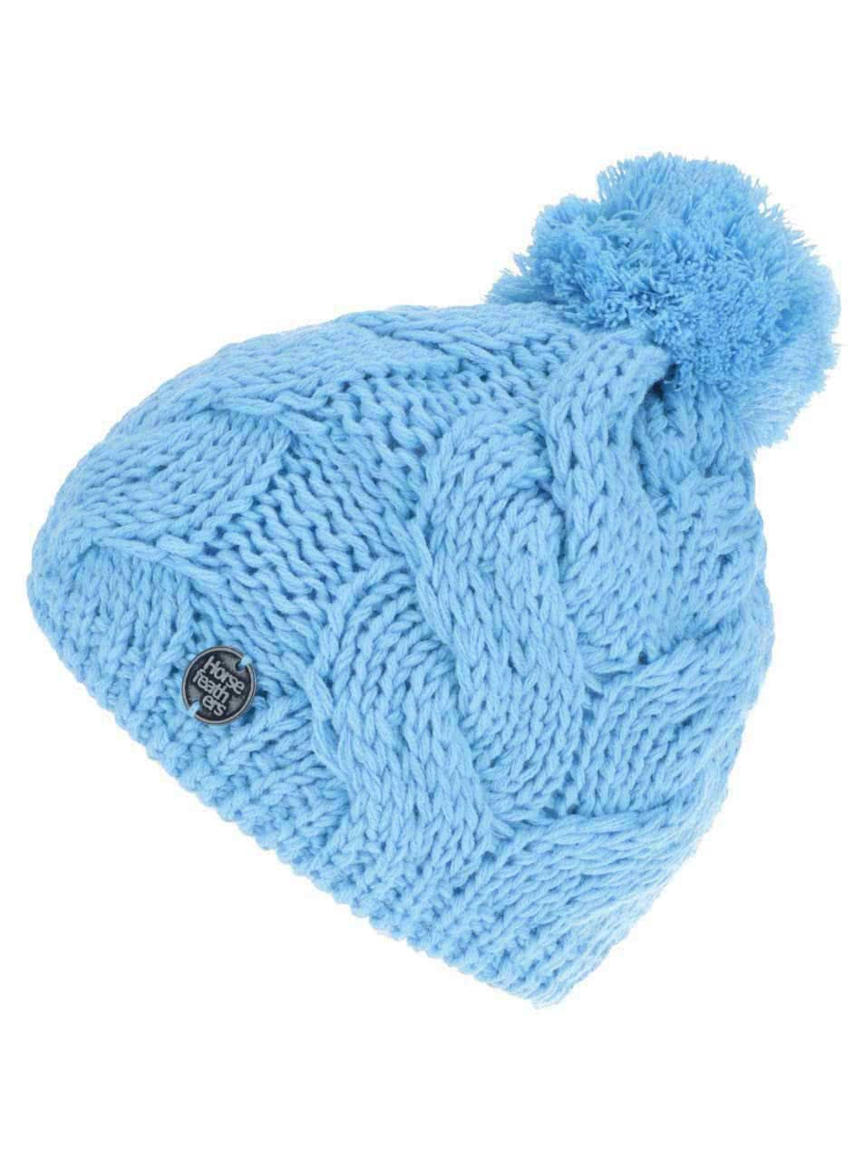 Modrý dámský pletený kulich Horsefeathers Devon