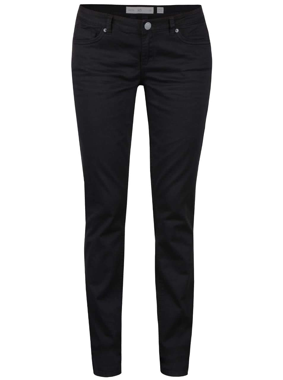 Černé dámské slim fit džíny s.Oliver