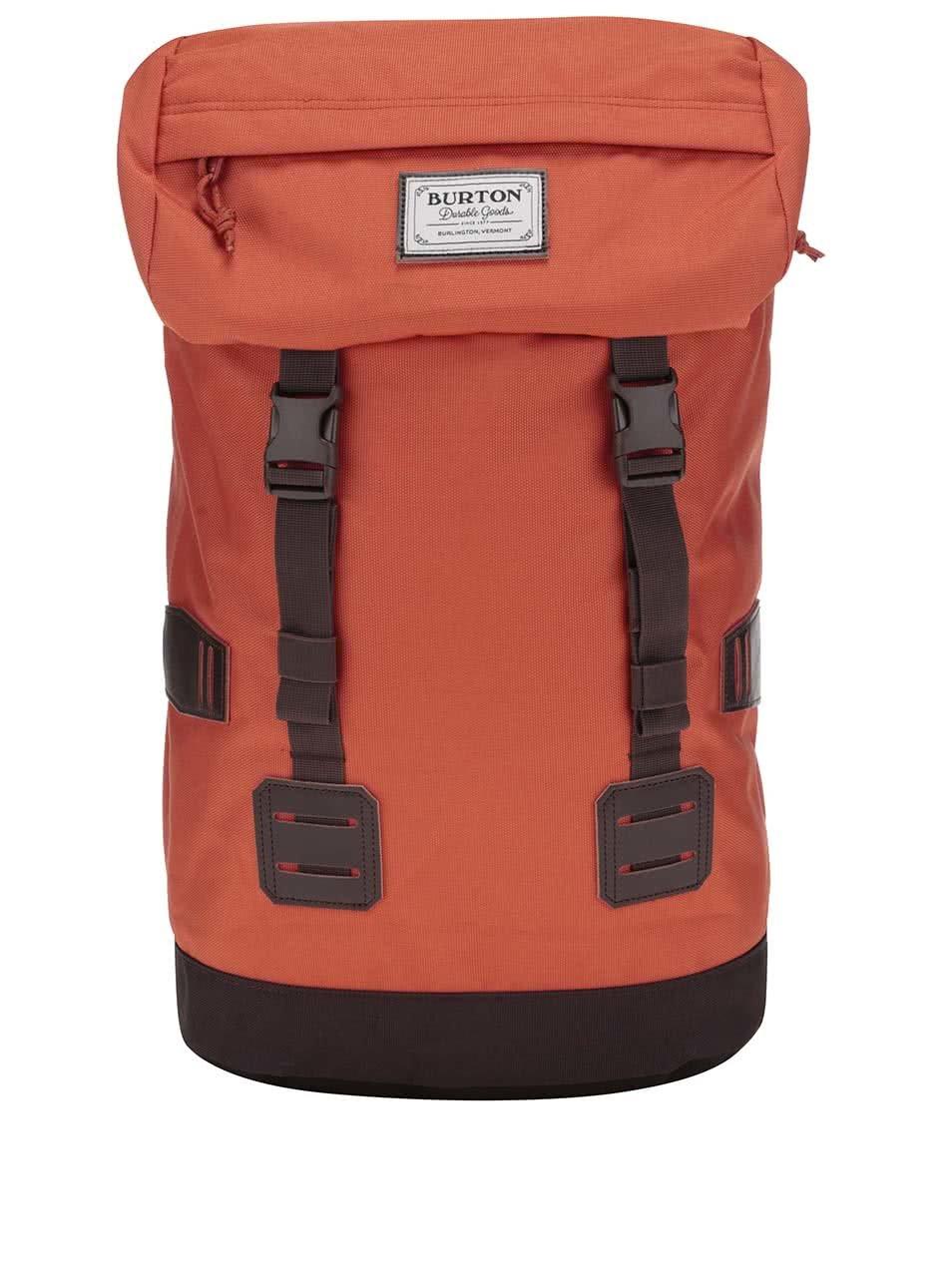 Hnědo-oranžový batoh Burton Tinder Pack
