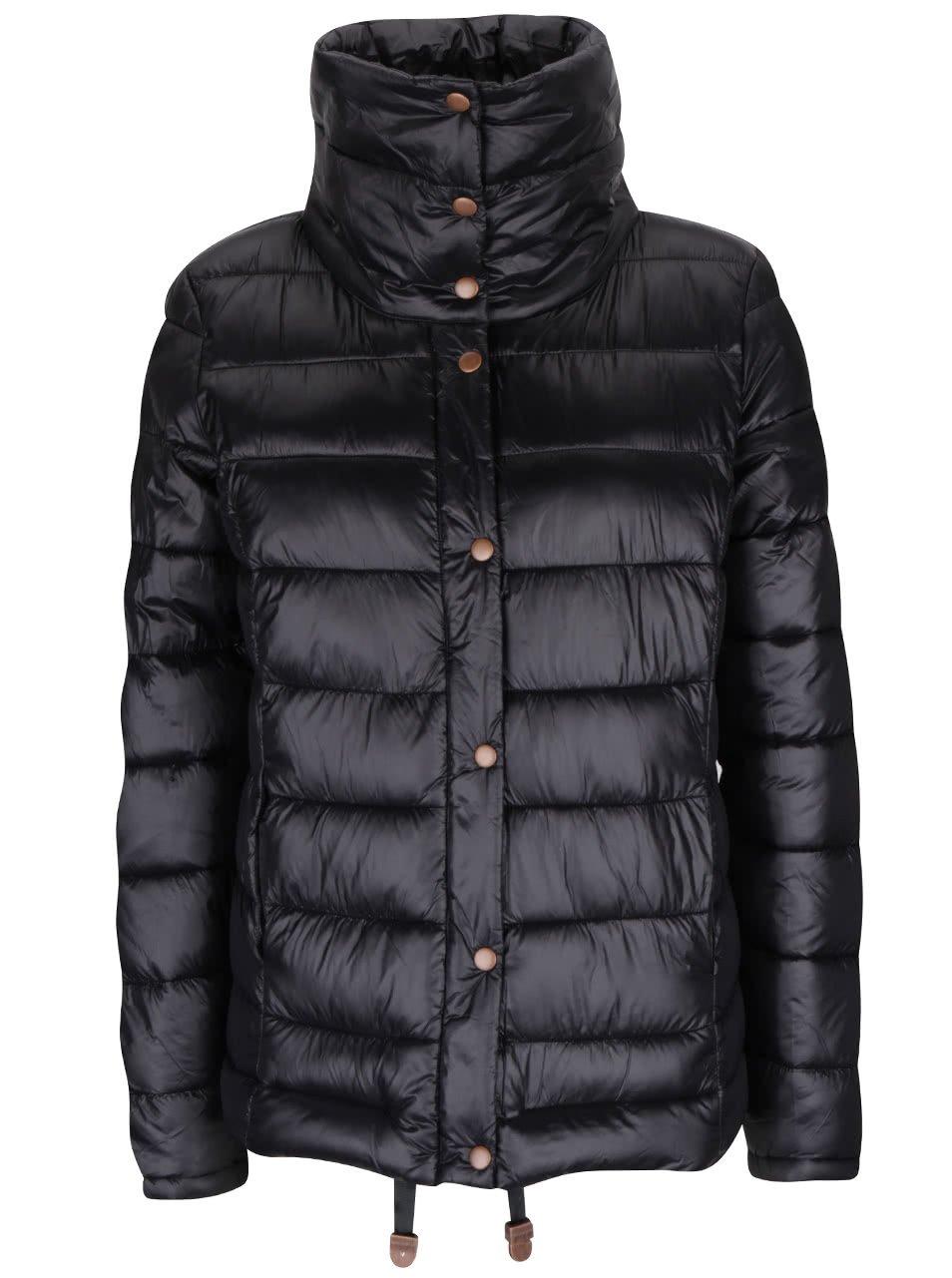 Černá dámská prošívaná bunda PEP Sonna